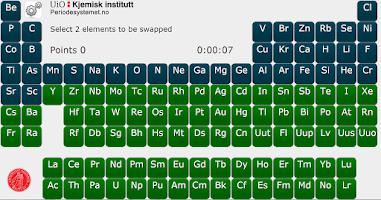 Screenshot of Periodic Puzzle