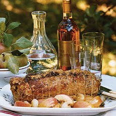 Pork Loin with Apple-Cornbread Stuffing