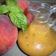 Basil Peach Salad Dressing.
