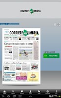Screenshot of Il Corriere dell'Umbria