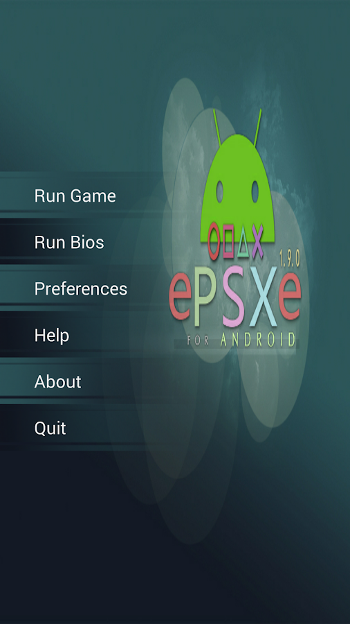 ePSXe for Android Screenshot 1