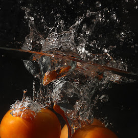 Tomato Splash by Siti Hana Iryani - Food & Drink Fruits & Vegetables