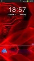Screenshot of GO Locker Theme Red Fire