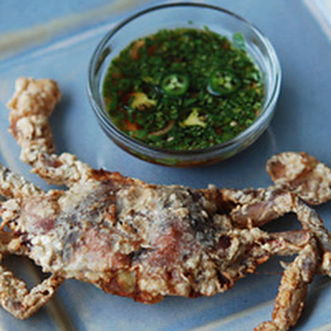 Crispy Soft-Shell Crabs with Bangalore-Style Dipping Sauce