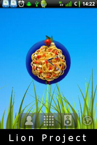 意大利麵食時鐘