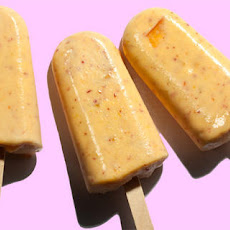 Peaches 'n' Cream Ice Pops Recipe