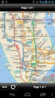 Screenshot of New York Transport Map - Free