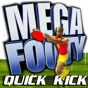 Cover art MegaFooty Quick Kick