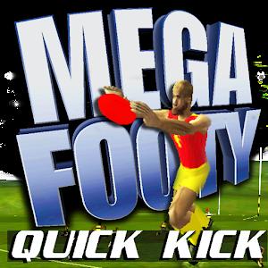 Cover art MegaFooty Quick Kick