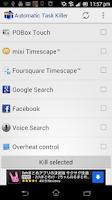 Screenshot of Automatic Task Killer