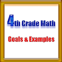 4th Grade Math, Goals&Examples