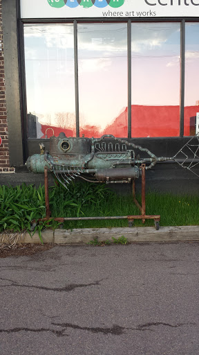 Deep Sea Submarine Art