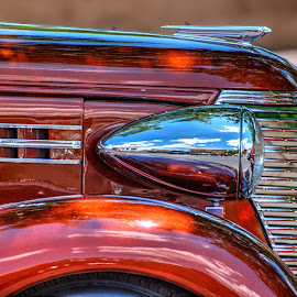 Hot Rod Symmetry by Victor Sanchez - Transportation Automobiles ( car, grill, automobile, oldie, hood )