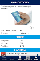 Screenshot of iLearn Cards