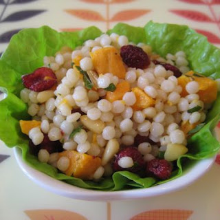 Curried Pearl Couscous With Cranberries And Almonds Recipes ...