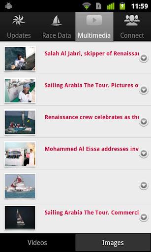 Sailing Arabia