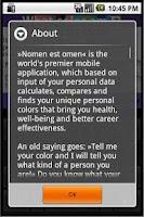 Screenshot of Nomen Est Omen