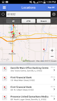 Screenshot of First Financial Mobile