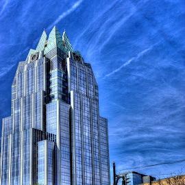 Frost Bank Tower by Marc Mulkey - Buildings & Architecture Office Buildings & Hotels ( austin, street, texas, 6th, glass, frost, bank )