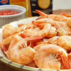 Peel n' Eat Shrimp with Homemade Cocktail Sauce