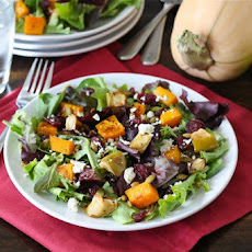 Maple Roasted Butternut Squash & Apple Salad