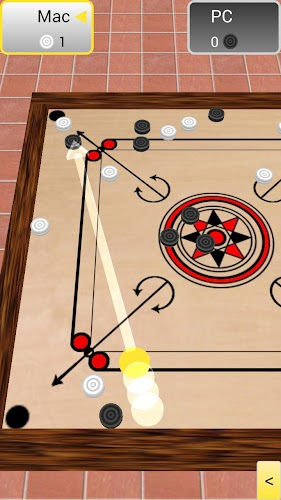 Carrom 3D Android App Screenshot