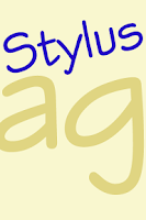 Screenshot of Stylus FlipFont