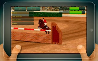 Screenshot of Jumping Horses Champions