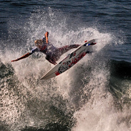 Surfing USA by Jose Matutina - Sports & Fitness Surfing ( surfing, orange county, california, sport, sea, huntington beach )