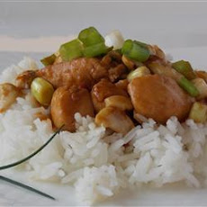 Thai Chicken with Cashew Nuts