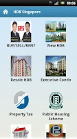 Screenshot of HDB Singapore