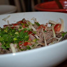 Salpicón De Res (Central American Shredded Beef Salad)