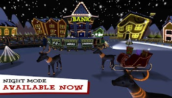 Screenshot of Christmas City Live Wallpaper
