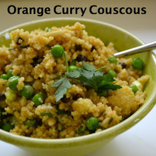 Orange Curry Couscous