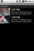 Screenshot of Megapixel IP Camera Viewer