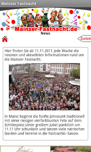 【免費旅遊App】Mainzer Fastnacht-APP點子