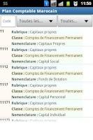 Screenshot of Plan Comptable Marocain