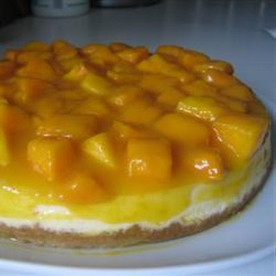 Tropical Mango Cheesecake