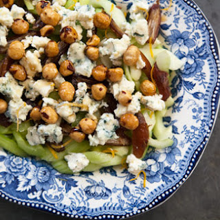 Celery, Blue Cheese and Hazelnut Salad