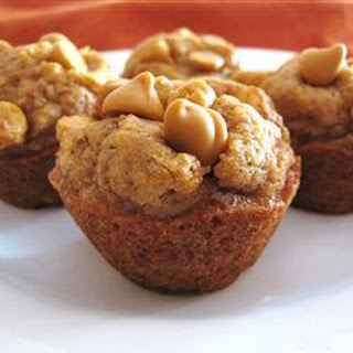 Mini Pumpkin Butterscotch Muffins