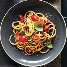 Zucchini Noodles with Cherry Tomato Marinara