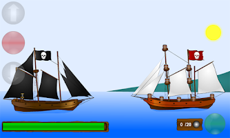 Screenshot of Pirate Ships War