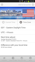 Screenshot of Best World Clock & Time Zones