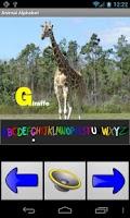 Screenshot of Animal Alphabet