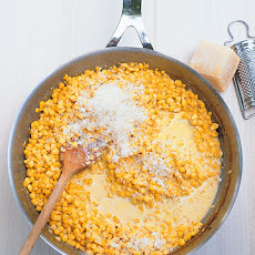 Creamed Corn with Parmesan
