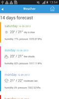 Screenshot of Tel Aviv City Guide Map Hotels