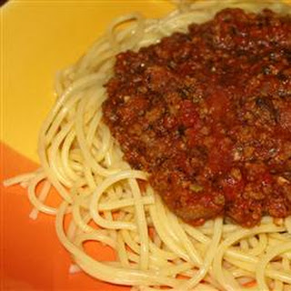 Soy Spaghetti Sauce Recipes