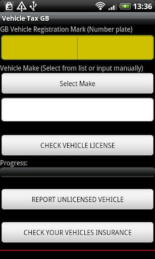 Vehicle Tax GB Free