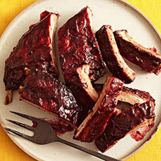 Blackberry-Molasses Ribs