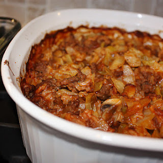 Simple Cabbage Casserole and A Birthday